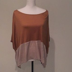 H&M Shirt sleeve flowy top size 6